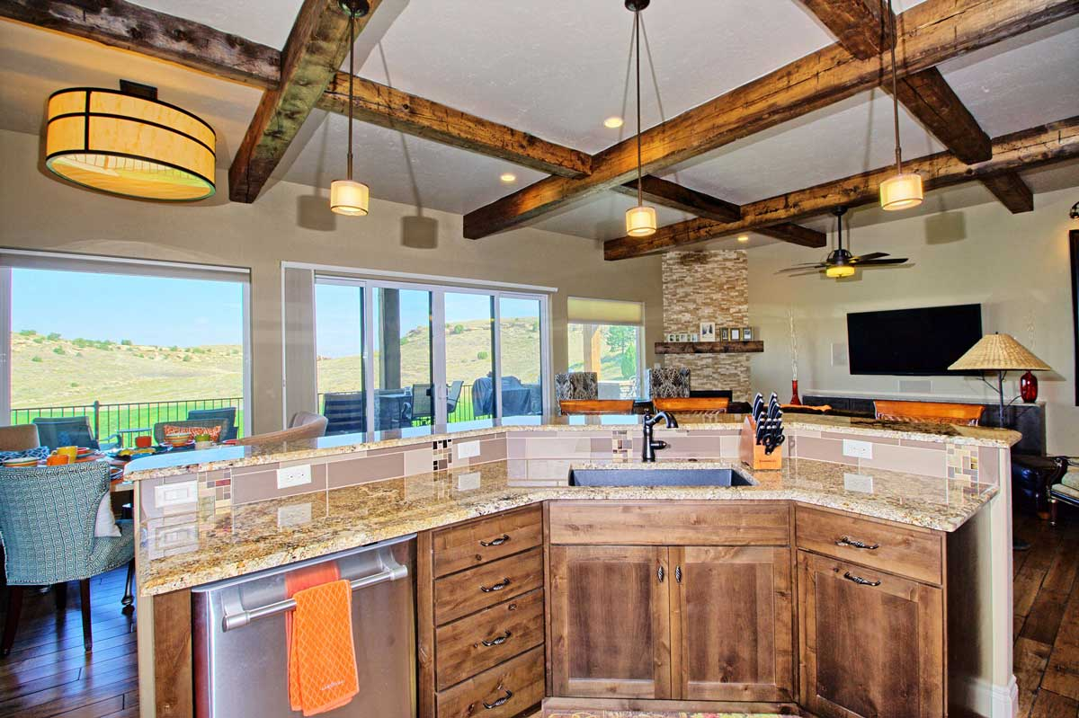 Hill View Custom Build Home Gj Porter Homes